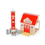 Tidlo Small World Fire Station Set
