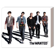 The Wanted Walking - 50 x 40cm Canvas