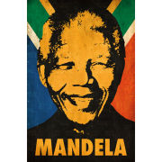 Nelson Mandela Stencil - Maxi Poster - 61 x 91.5cm