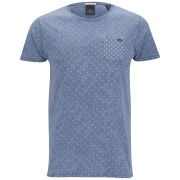 Scotch & Soda Men's Amsterdams Blauw T-Shirt - Indigo
