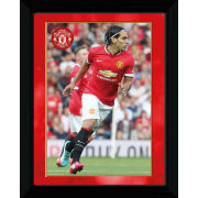 Manchester United Falcao 14/15 - Framed Photographic - 16x12