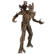 Gentle Giant Marvel Guardians of the Galaxy Rocket Raccoon and Groot Statue