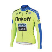 Tinkoff-Saxo Long Sleeve Thermal Jersey - Yellow