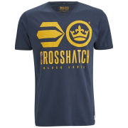 Crosshatch Men's Classico T-Shirt - Total Eclipse