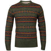 Tokyo Laundry Men's Piccadilly Crew Neck Knit - Forest Marl