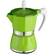 G.A.T. Coloranda Espresso Maker 3 Cup - Green