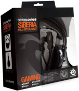 SteelSeries Siberia Full Size Headset - Black