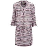 Maison Scotch Women's Print Shirt Dress - Pink Multi