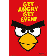 Angry Birds Get Angry Get Even Maxi Poster (61 x 91.5cm)