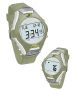 Skechers Wrist Band Watch & Heart Rate Monitor - Khaki