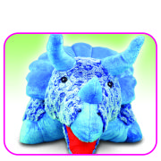 Huggle Buddies - Blue Dinosaur