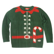 Christmas Jumper Unisex - Elf Outfit