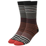 Ted Baker Lilrich Multi Stripe Socks - Black