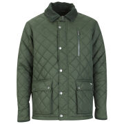 Atticus Men's Quilted Jacket - Khaki