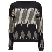 VILA Women's Llera Knitted Jumper - Black