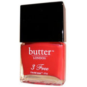 butter LONDON Pillar Box Red 3 Free lacquer 11ml