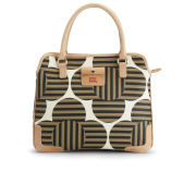 Orla Kiely Optical Flower Print Small Jeanie Cross Body Bag - Tortoise