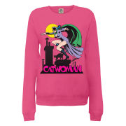DC Comics Sweatshirt - Catwoman - Pink