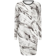 Helmut Lang Women's Terrene Print Dress - Grey Multi