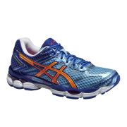 Asics Women's Gel Cumulus 16 Cushioning Running Shoes - Soft Blue/Nectarine/Deep Blue