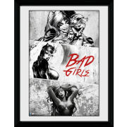 DC Comics Batman Comic Badgirls - Framed Photographic - 16 x 12inch