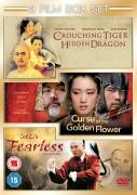 Curse Of The Golden Flower/Fearless/Crouching Tiger...