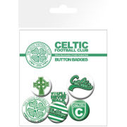 Celtic Crest and Slogans - Badge Pack