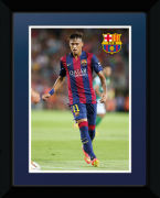 Barcelona Neymar 14/15 - 8x6 Framed Photographic
