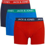 Jack & Jones Men's Blik 3-Pack Boxers - Red