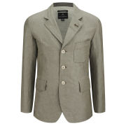 Nigel Cabourn Men's Business Jacket - Grey Linen