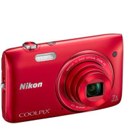 Nikon Coolpix S3400 - Red ( 20.48 MP,7 x Optical Zoom,2.7 Inch LCD ) - Grade A Refurb
