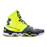 Under Armour Men's SpeedForm XC MID Running Shoes - High-Vis/White/Charcoal