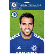 Chelsea Fabregas Head Shot 14/15 - Bagged Photographic - 10x8