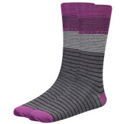 Ted Baker Spresly Multi Stripe Socks - Grey