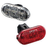 Cateye Omni 3 LED Front and Rear Light Set
