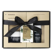 Korres Black Pine 1+1 Set - Eye Cream (15ml) and Day Cream for Dry Skin (40ml)