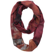 Front Row Society Crush Loop Scarf - Red