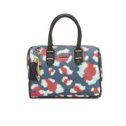Paul's Boutique Molly Printed Bowler Bag - Sketchy Leopard