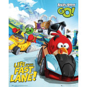Angry Birds Go Race Mini Poster (40 x 50cm)