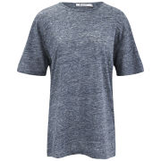 T by Alexander Wang Women's Heathered T-Shirt - Indigo