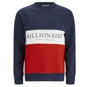 Billionaire Boys Club Men's Break Cut and Sew Crew Neck Sweatshirt - Navy