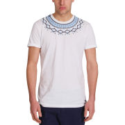 Mas-if Men's Apache T-Shirt - White