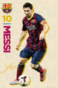 Barcelona Messi Vintage 13/14 - Maxi Poster - 61 x 91.5cm