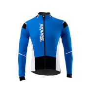 Santini Active Air Intake Long Sleeve Jersey - Turquoise