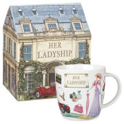 Queens at Your Leisure Squash Mug Her Ladyship Gift Box (275ml) - Multi