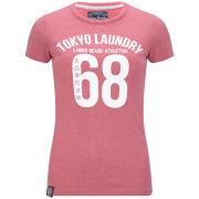 Tokyo Laundry Women's Megan T-Shirt - Lipstick Red Marl