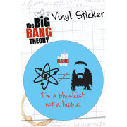 The Big Bang Theory Hippie - Vinyl Sticker - 10 x 15cm
