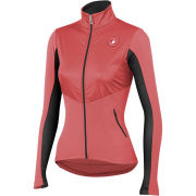 Castelli Women's Illumina Long Sleeve Full Zip Jersey - Coral