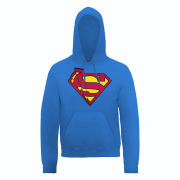 DC Comics Hoody Superman Shards Logo - Royal Blue