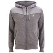 Kangol Men's Basset Hoody - Charcoal Grindle